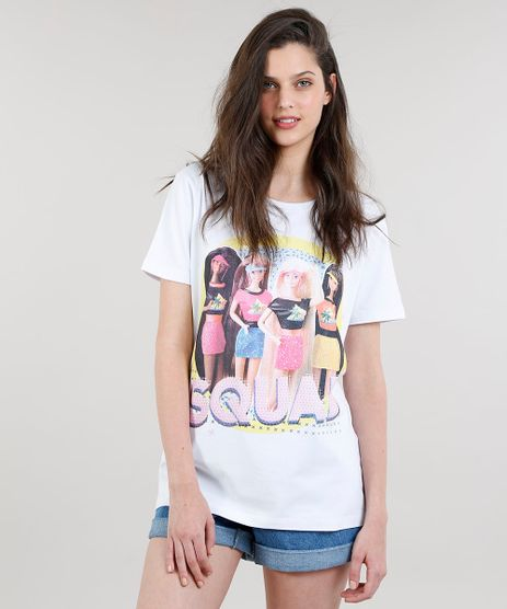 T-shirt-Feminina-Barbie--Squad--Manga-Curta-Off-White-9329755-Off_White_1