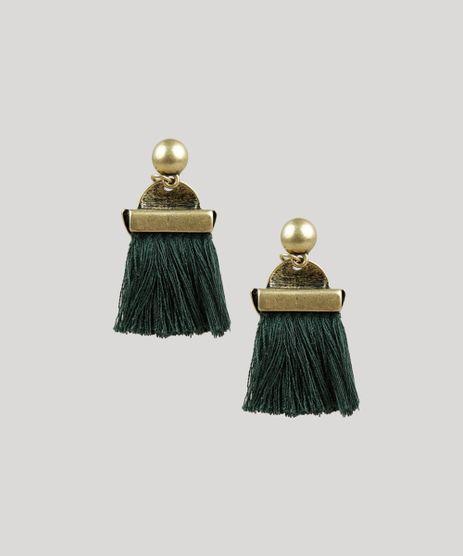 Brinco-Feminino-com-Tassel-Dourado-9204118-Dourado_1