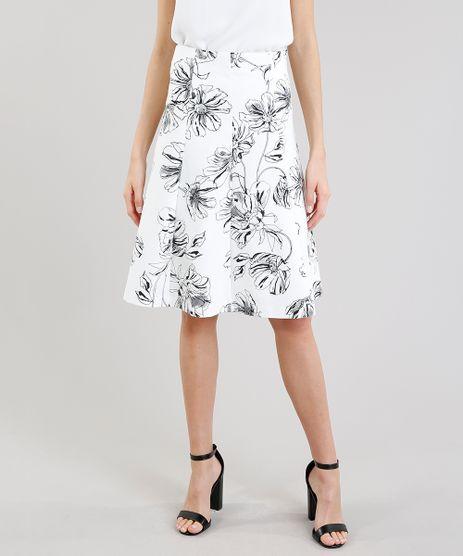 Saia-Evase-Feminina-Estampada-de-Floral-Off-White-9189862-Off_White_1