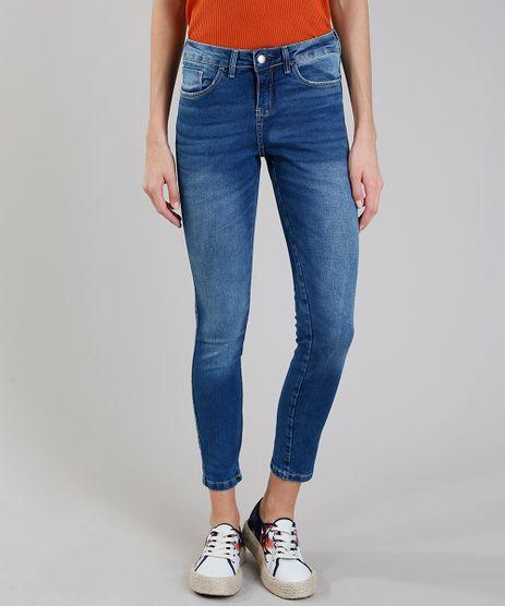 Calca-jeans-Feminina-Skinny-Azul-Medio-9280665-Azul_Medio_1