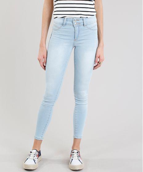 Calca-Jeans-Feminina-Super-Skinny-Pull-Up--Azul-Claro-9274700-Azul_Claro_1