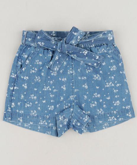 Short-Jeans-Infantil-Clochard-Estampado-Floral-Azul-Medio-9174607-Azul_Medio_1