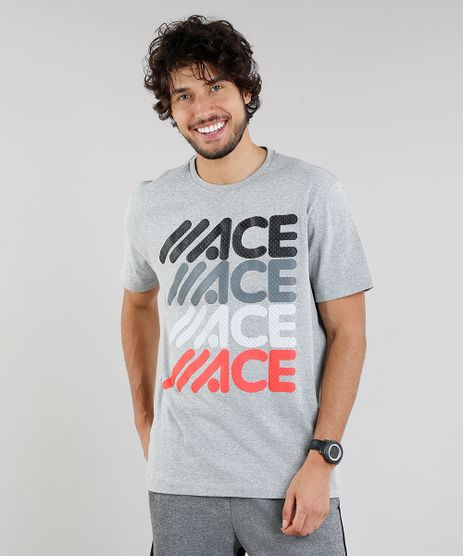 Camiseta-Masculina-Esportiva-Ace-Manga-Curta-Gola-Redonda-Cinza-Mescla-Claro-9133686-Cinza_Mescla_Claro_1