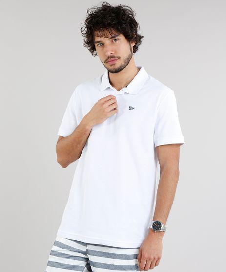Polo-Masculina-Basica-em-Piquet-Manga-Curta-Branca-9171735-Branco_1