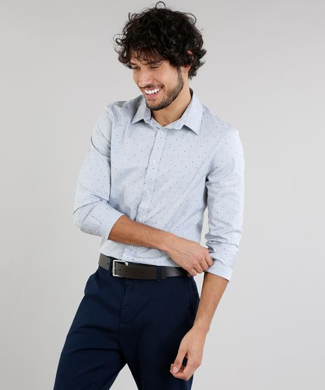 Camisa-Masculina-Slim-Estampada-Manga-Longa-Cinza-Claro-9095679-Cinza_Claro_1
