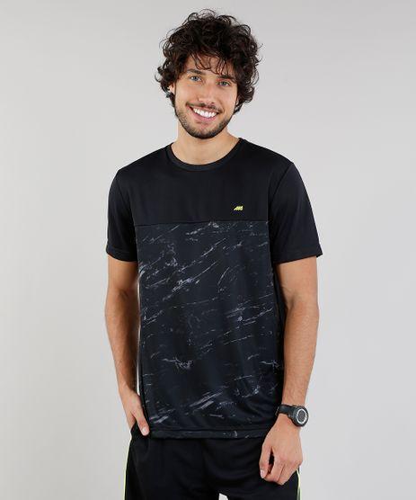Camiseta-Masculina-Esportiva-Ace-de-Treino-com-Marmorizado-Preta-9218725-Preto_1