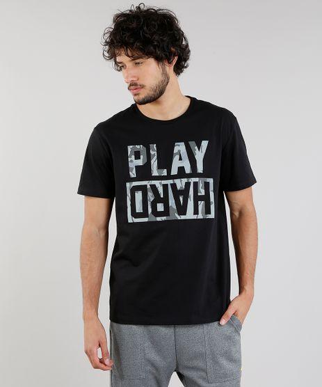 Camiseta-Masculina-Esportiva-Ace--Play-Hard--Manga-Curta-Gola-Careca-Preta-9190778-Preto_1