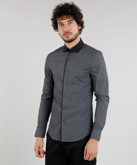 Camisa-Masculina-Slim-Estampada-Manga-Longa-Chumbo-9093234-Chumbo_1