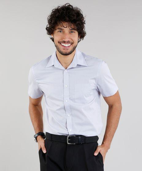 Camisa-Masculina-Comfort-Manga-Curta-com-Bolso-Lilas-7602490-Lilas_1