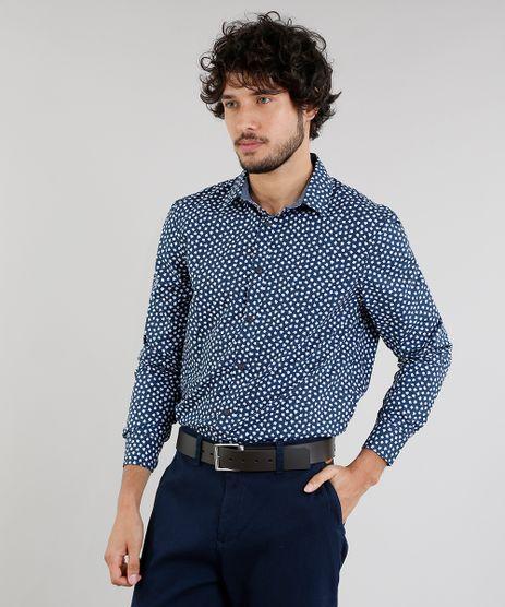 Camisa-Masculina-Comfort-Estampada-Floral-Manga-Longa-Azul-Marinho-9095678-Azul_Marinho_1