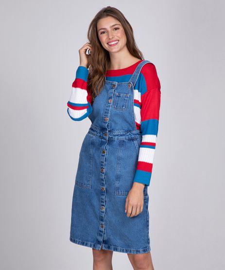 Jardineira-Jeans-Feminina-com-Botoes-Azul-Medio-9344512-Azul_Medio_1