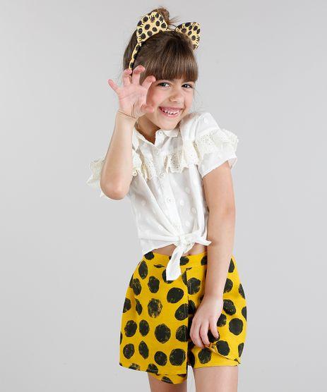 Camisa-Infantil-Fabula-com-Babado-e-No-Manga-Curta-Off-White-9171728-Off_White_1