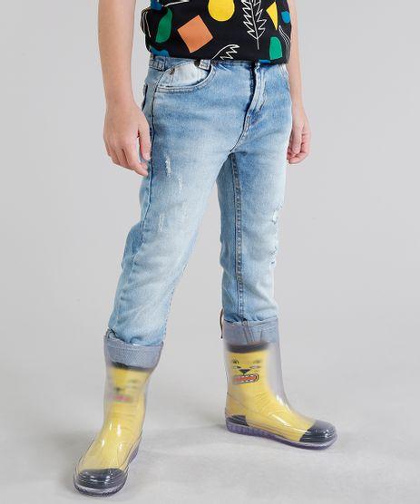 Calca-Jeans-Infantil-Slim-Bento-com-Puidos-Azul-Claro-9246001-Azul_Claro_1