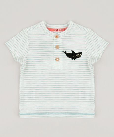 Camiseta-Infantil-Bento-Listrada-com-Tubarao-Manga-Curta-Gola-Careca-Off-White-9165218-Off_White_1