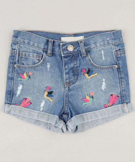Short-Jeans-Infantil-Fabula-com-Bordado-de-Passaros-Azul-Medio-9218857-Azul_Medio_1
