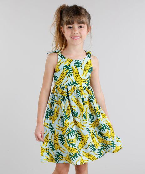 Vestido-Infantil-Fabula-Estampado-de-Onca-Alcas-Cruzadas-Decote-Redondo-Azul-Claro-9180732-Azul_Claro_1