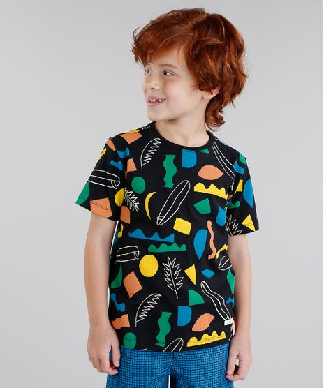 f180d22ecf Camiseta-Infantil-Bento-Estampada-Prancha-de-Surf-Manga-