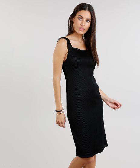 Vestido-Feminino-Plissado-Curto-Preto-9264866-Preto_1