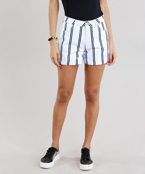 Short-de-Sarja-Feminino-Vintage-Listrado-Branco-9271829-Branco_1