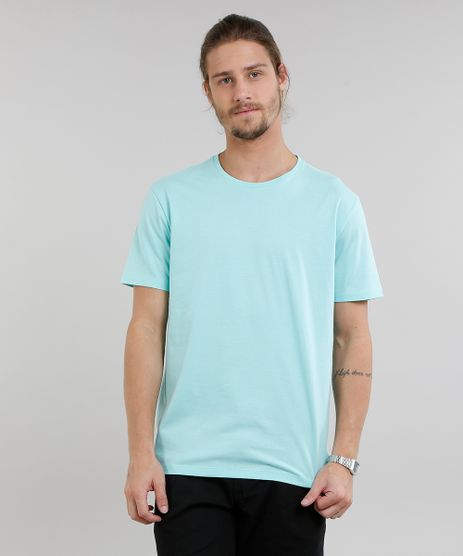 Camiseta-Masculina-Basica-Manga-Curta-Gola-Careca-Verde-Claro-9222314-Verde_Claro_1