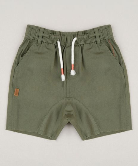 Bermuda-Infantil-Bento-com-Bolsos-Verde-Militar-9169517-Verde_Militar_1