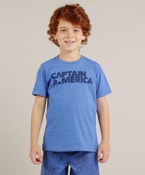 Camiseta-Infantil-Capitao-America-Manga-Curta-Gola-Careca-Azul-9281690-Azul_1