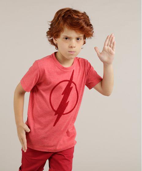 Camiseta-Infantil-The-Flash-Manga-Curta-Gola-Careca-Vermelha-9233656-Vermelho_1