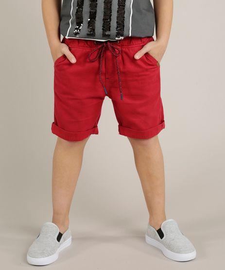 Bermuda-Color-Infantil--Vermelha-9226909-Vermelho_1