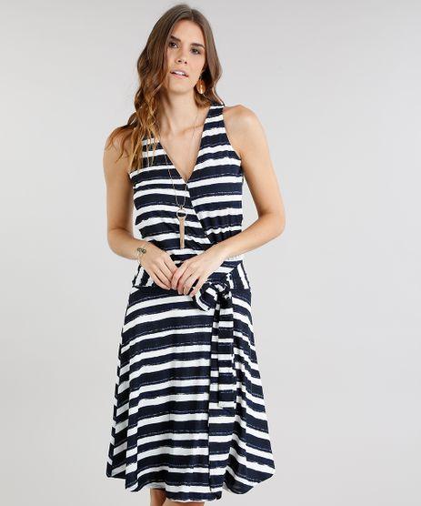 Vestido-Feminino-Curto-Listrado-com-No-Decote-V-Off-White-9236025-Off_White_1