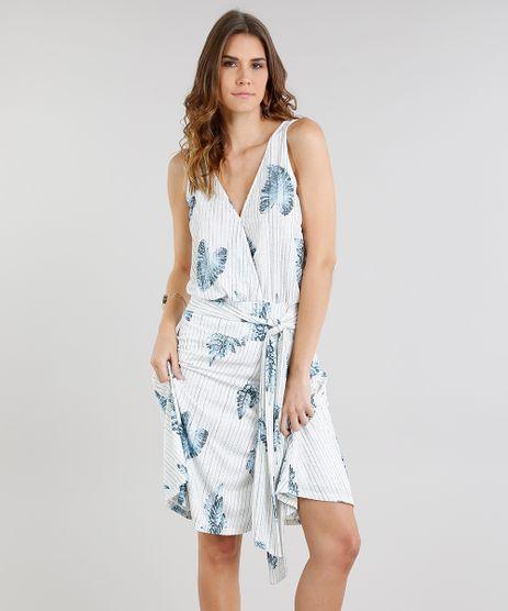 Vestido-Feminino-Curto-Listrado-com-Estampa-de-Folhas-e-No-Decote-V-Off-White-9236026-Off_White_1