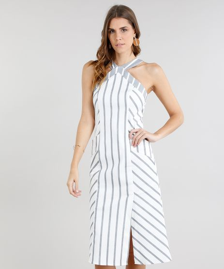 Vestido-Feminino-Midi-Listrado-Halter-Neck-com-Bolsos-e-Fenda-Off-White-9186068-Off_White_1