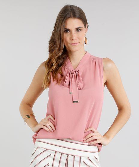 Regata-Feminina-com-Gola-Laco-Rose-9109655-Rose_1
