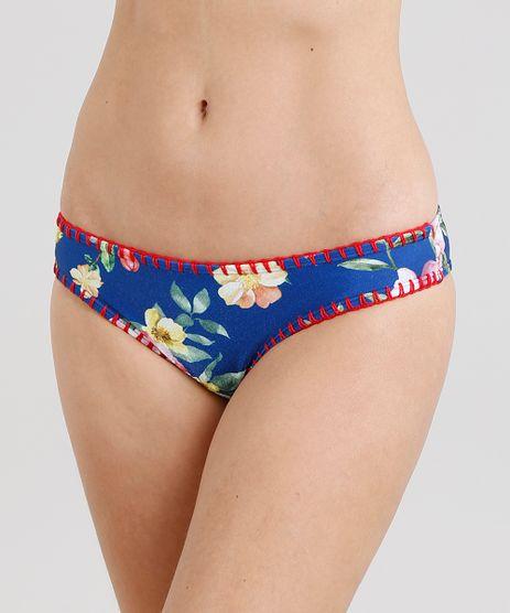 Biquini-Calcinha-Tanga-Estampado-Floral-com-Croche-e-Protecao-UV50--Azul-Royal-9221469-Azul_Royal_1