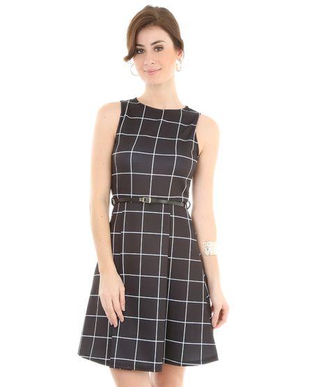 Vestido-Estampado-Quadriculado-Preto-8105617-Preto_1
