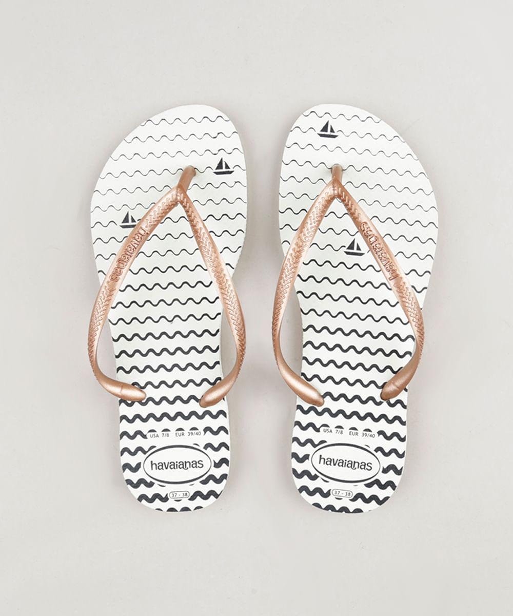... Chinelo-Havaianas-Feminino-Slim-Oceano-Branco-9282577-Branco 1 230cc9d899