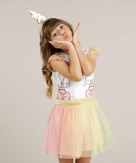 Vestido-Infantil-Unicornio-com-Tule-Colorido--Branco-9247502-Branco_1