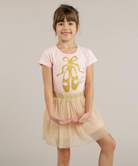 Vestido-Infantil-Bailarina-com-Tule-Metalizado--Rosa-9258958-Rosa_1