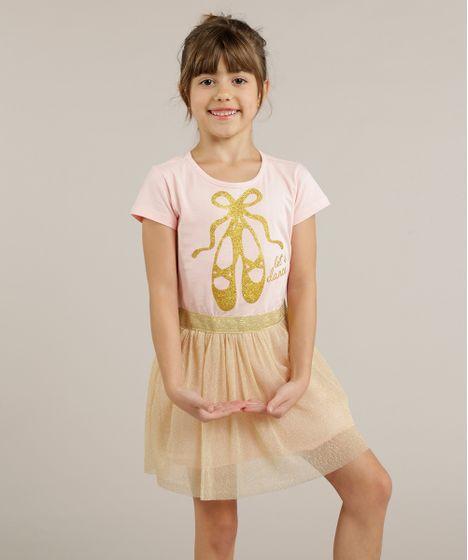 1be2b1c644 Vestido-Infantil-Bailarina-com-Tule-Metalizado--Rosa-9258958 ...