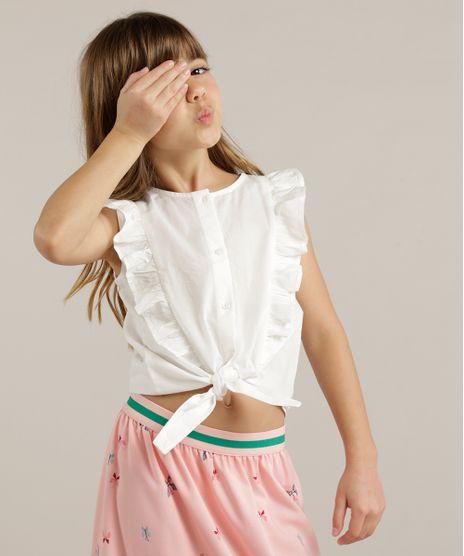 Camisa-Infantil-Sem-Manga-com-Babados-e-No-Off-White-9182769-Off_White_1