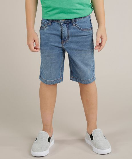 Bermuda-Jeans-Infantil-Basica-Azul-Medio-9239048-Azul_Medio_1