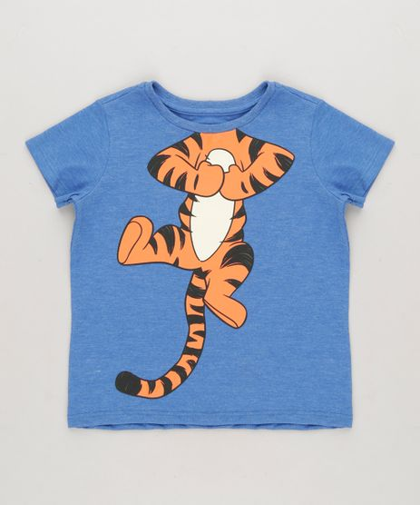 Camiseta-Infantil-Tigrao-Manga-Curta-Gola-Careca-Azul-8749993-Azul_1