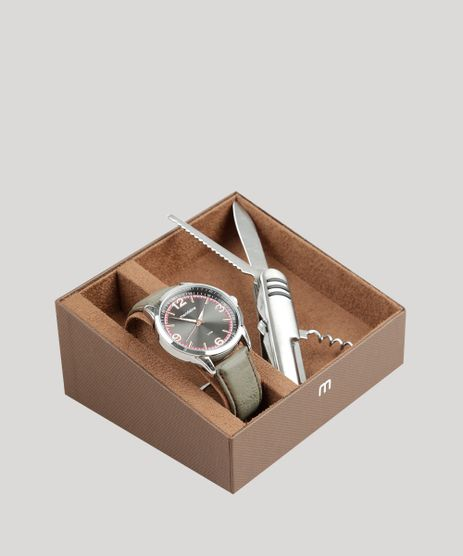 Kit-de-Relogio-Analogico-Mondaine-Masculino---Canivete---76705G0MVNH2KB-Prateado-9326013-Prateado_1