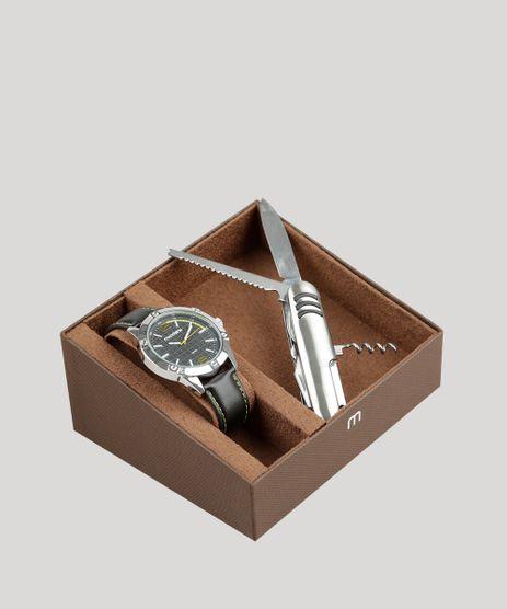 Kit-de-Relogio-Analogico-Mondaine-Masculino---Canivete---83392G0MVNH1KA-Preto-9326111-Preto_1