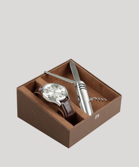 Kit-de-Relogio-Analogico-Mondaine-Masculino---Canivete---76659G0MVNH1KD-Prateado-9326003-Prateado_1