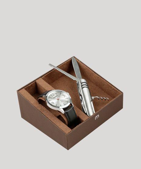 Kit-de-Relogio-Analogico-Mondaine-Masculino---Canivete---83408G0MVNH1KA-Prateado-9326099-Prateado_1