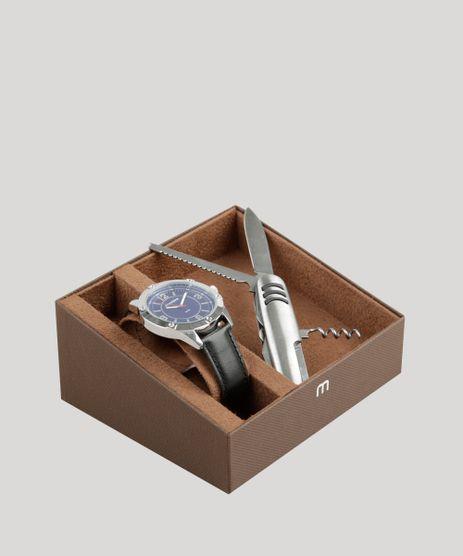 Kit-de-Relogio-Analogico-Mondaine-Masculino---Canivete---83393G0MVNH1KA-Prateado-9326108-Prateado_1