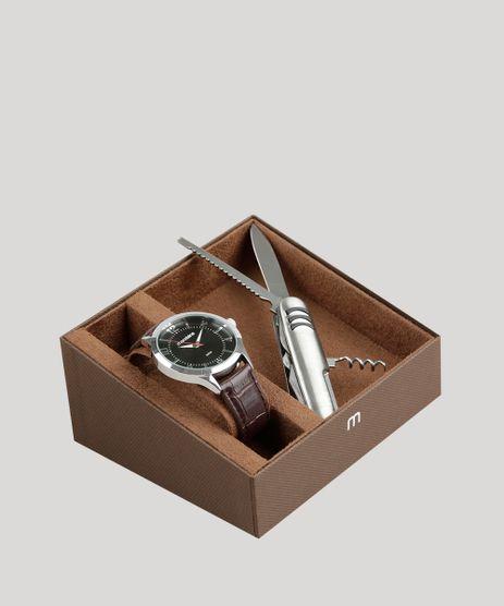 Kit-de-Relogio-Analogico-Mondaine-Masculino---Canivete---83409G0MVNH2KA-Prateado-9326115-Prateado_1