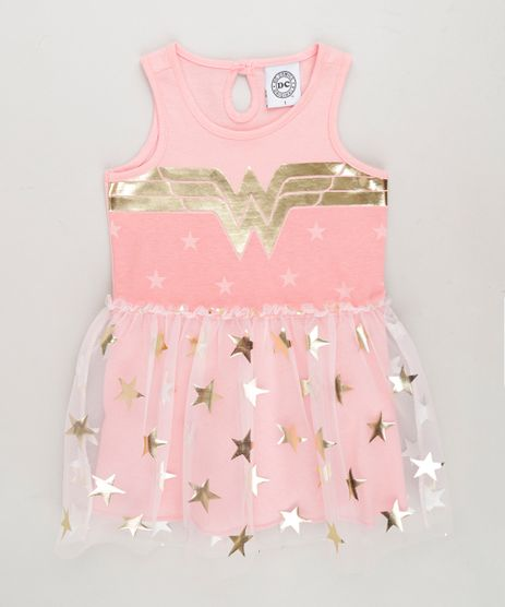 Vestido-Infantil-Mulher-Maravilha-com-Tule-Sem-Manga-Rosa-9268906-Rosa_1