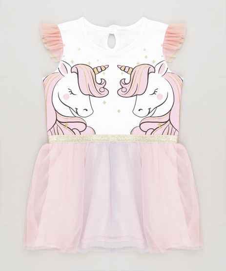 Vestido-Infantil-Unicornios-com-Tule-Sem-Manga-Decote-Redondo-Branco-9268908-Branco_1