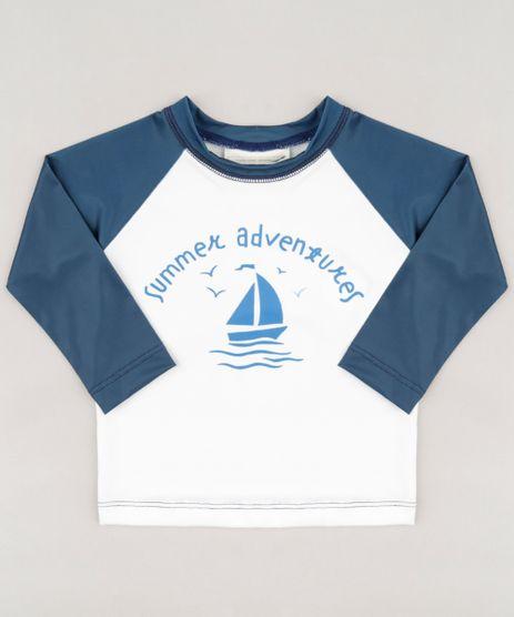 Camiseta-de-Praia-Infantil--Summer-Adventures--Raglan-Manga-Longa-Gola-Careca-Off-White-9228986-Off_White_1